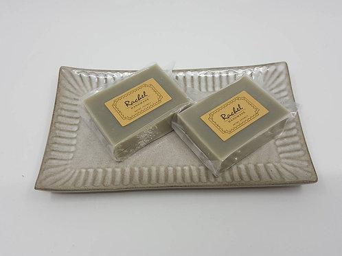 酪梨艾草皂