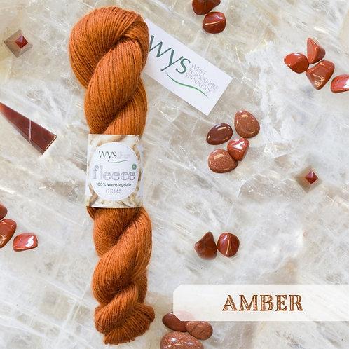 WYS Wensleydale Gems_Amber 342