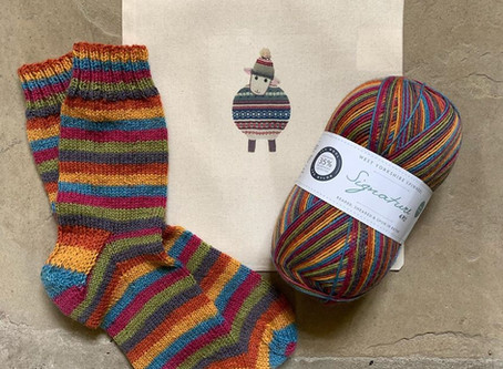 【英國Yarndale羊毛展專屬襪線材料包訂購進度報告】