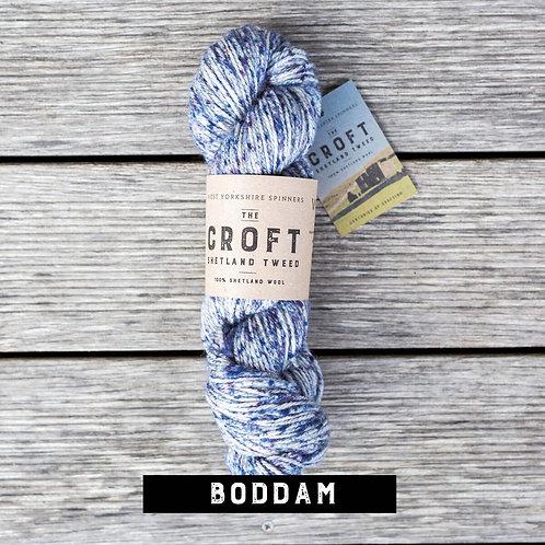 WYS The Croft - Shetland Tweed_Boddam(藍)