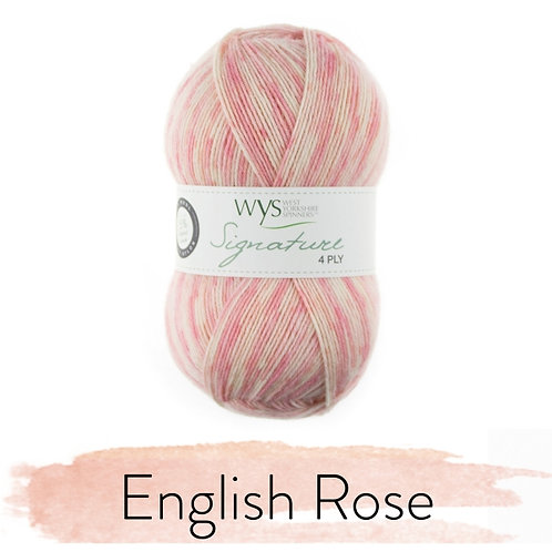 WYS 4 Ply襪線_English Rose 806
