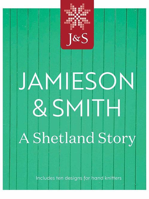 編織書Jamieson & Smith A Shetland Story