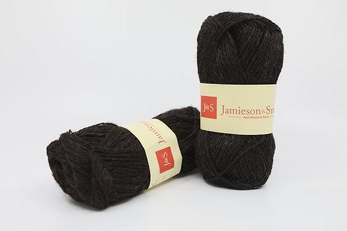 英國毛線J&S Shetland Heritage_Black(黑)