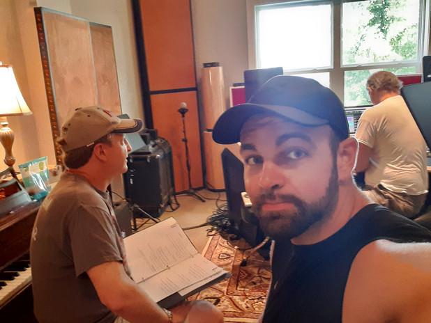 Cory, Sean & me.