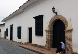 Rue Coloniale à Santa Fe de Antioqui
