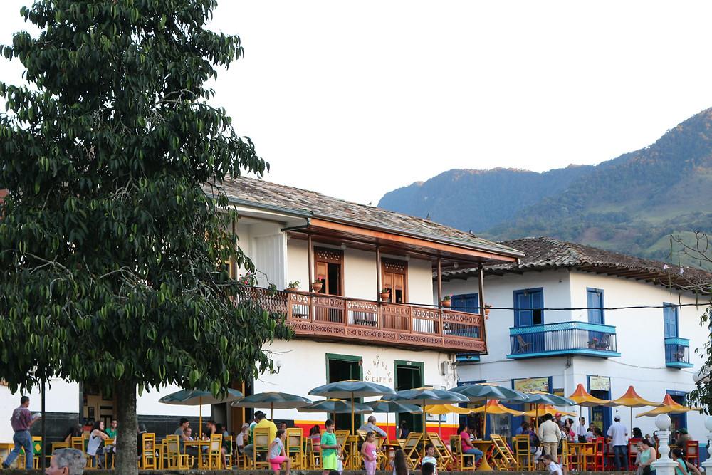 Place Libertadores de Jardin en Colombie