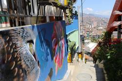Les graffitis de la Comuna 13