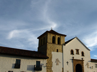Villa de leyva et l'église de Rosario