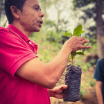Gustavo, Producteur du café la Luna Llena