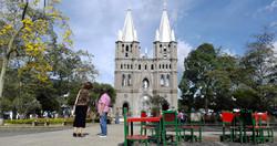 Place du village de Jardin en Colombie