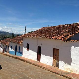 Barichara et ses rues pavées, Colombie