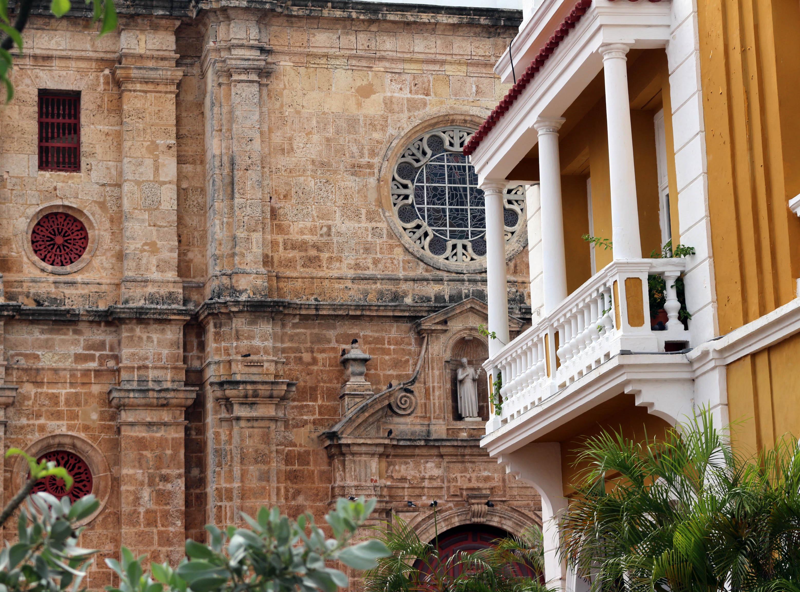 Architecture de Carthagène des Indes
