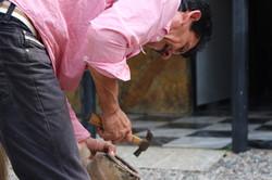 Agriculteur de Guadalupe en Colombie