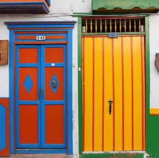 Village de Salento, Colombie