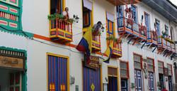 Balcon coloniale à Filandia