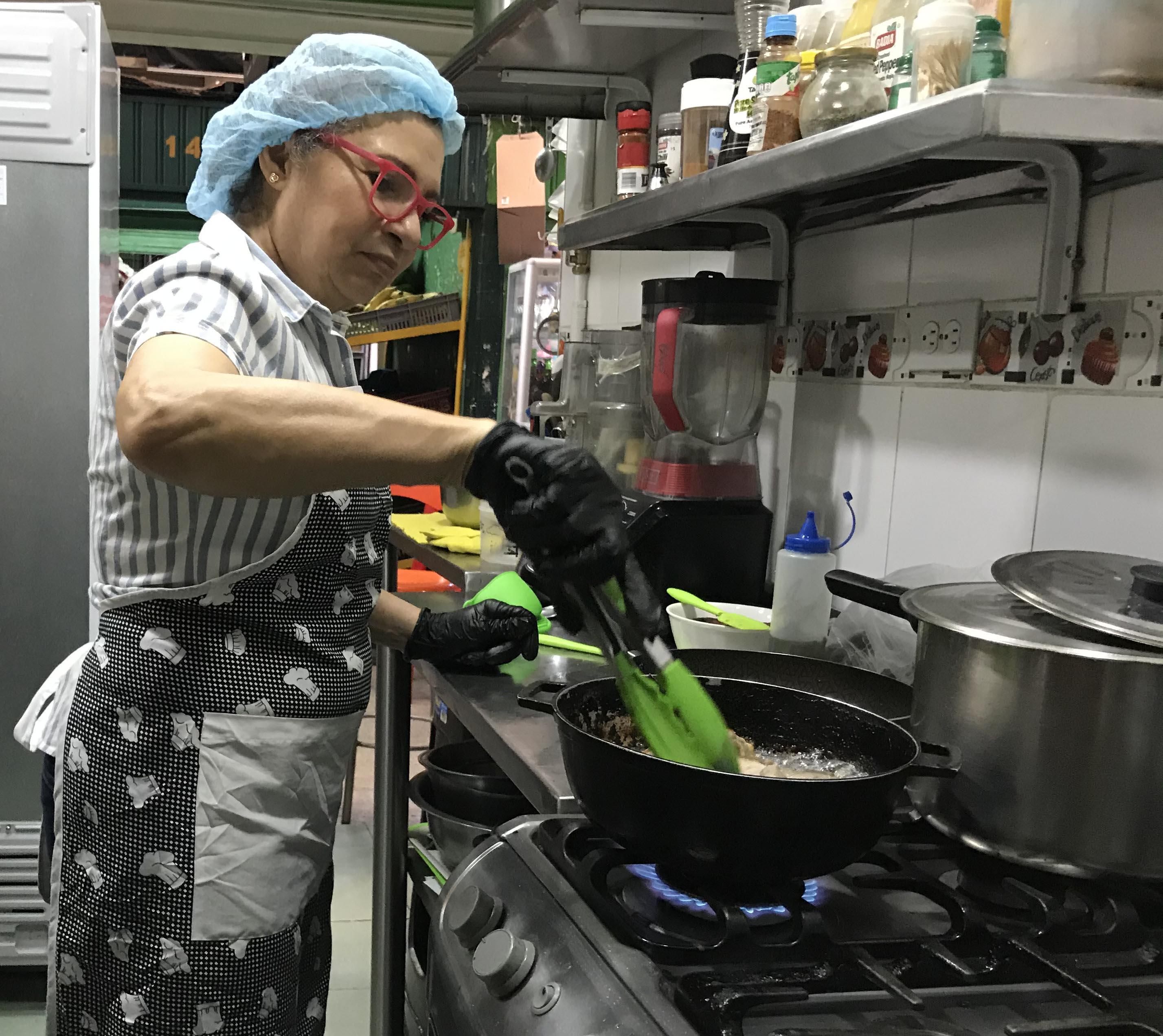 Atelier cuisine à Medellin
