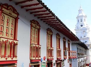 Village de Salamina et Aguadas, Colomb