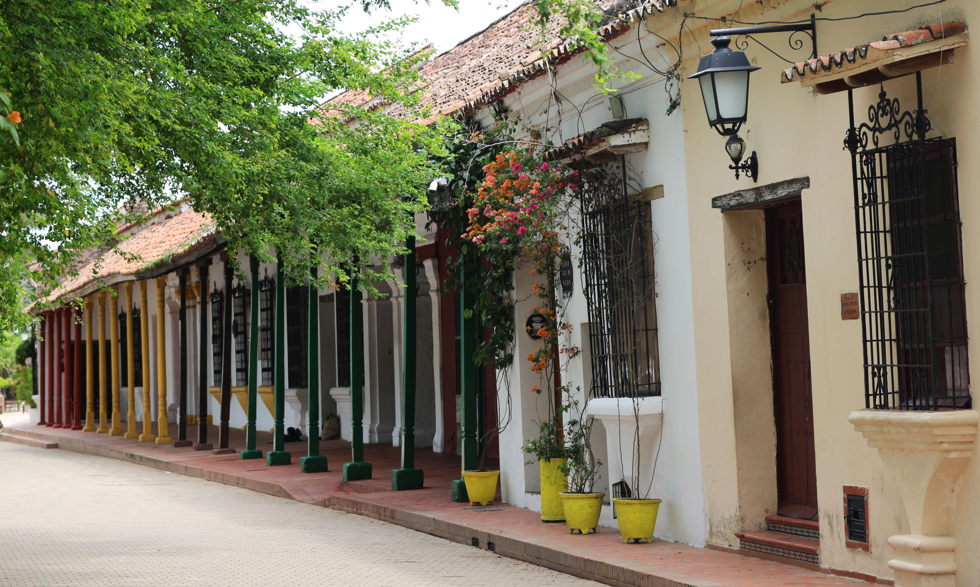 Rues coloniales de Monpox
