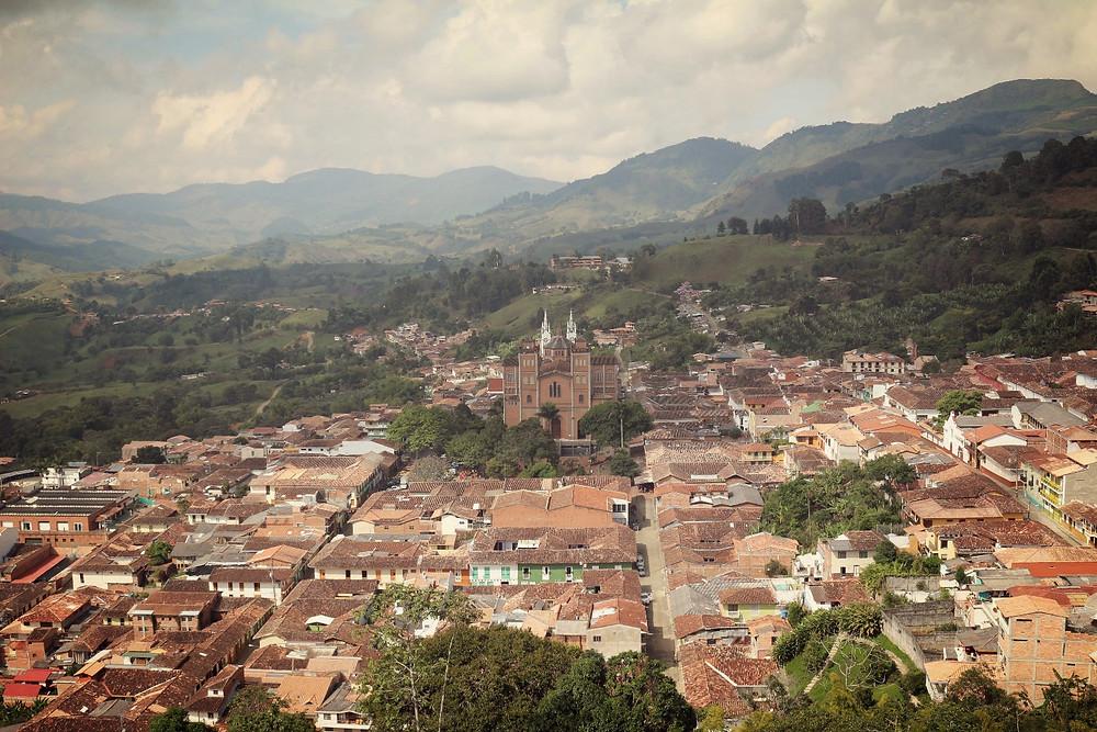Village de Jerico en Colombie