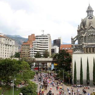 Place Botero de Medellin, Colombie