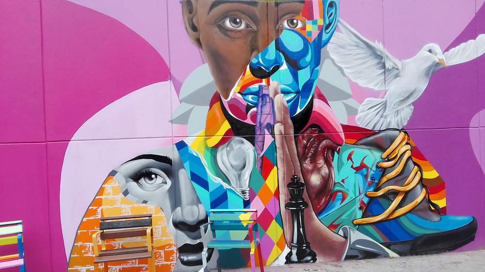 Street-art Comuna 13 Medellin