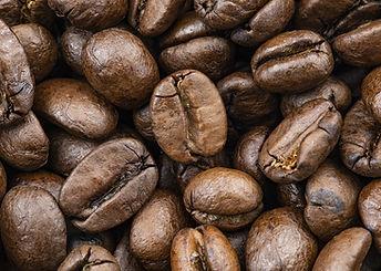 Grains de café de Colombie