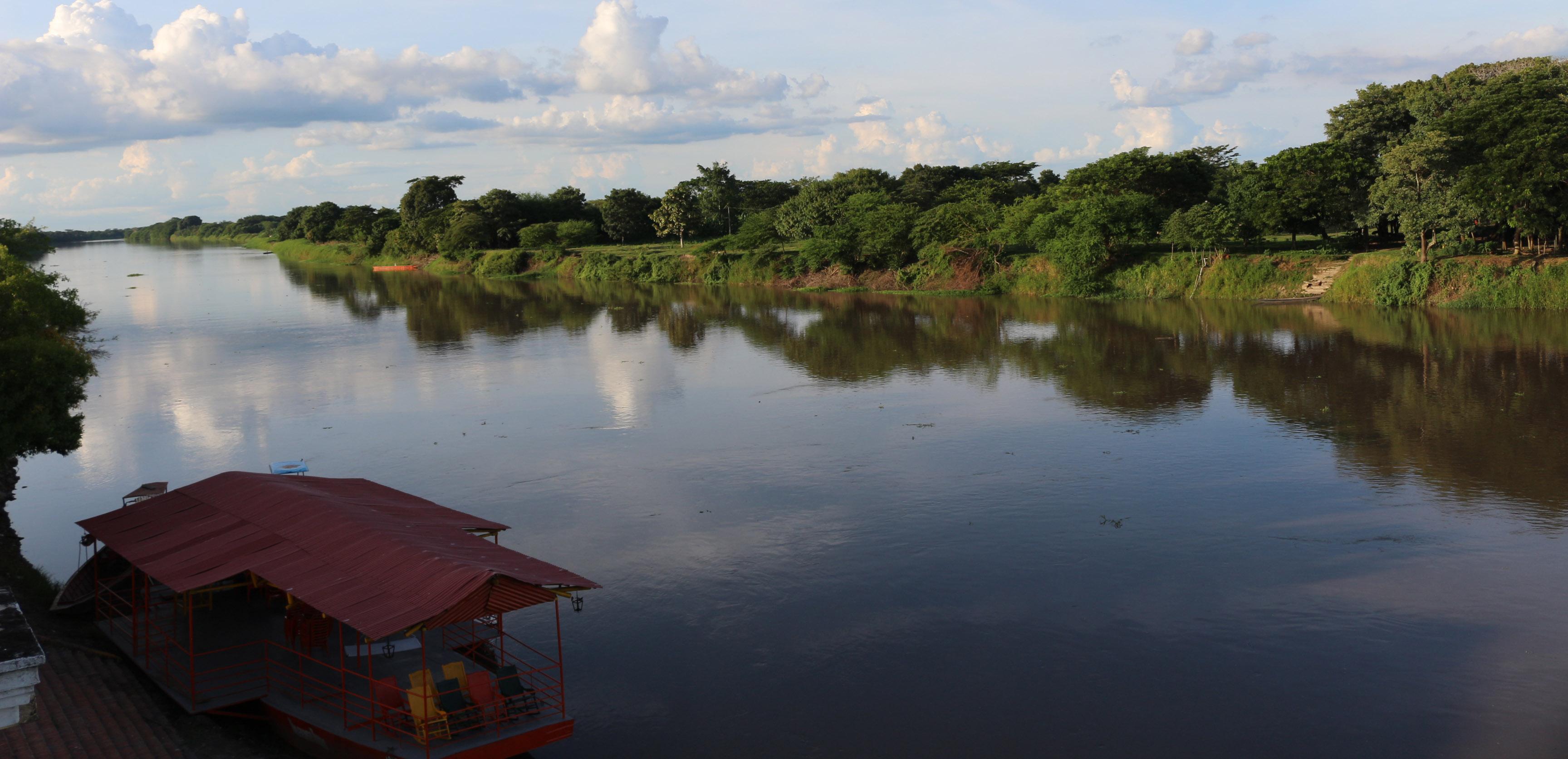 Rivière Magdalena à Monpox