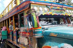 Bus traditionnel de Colombie