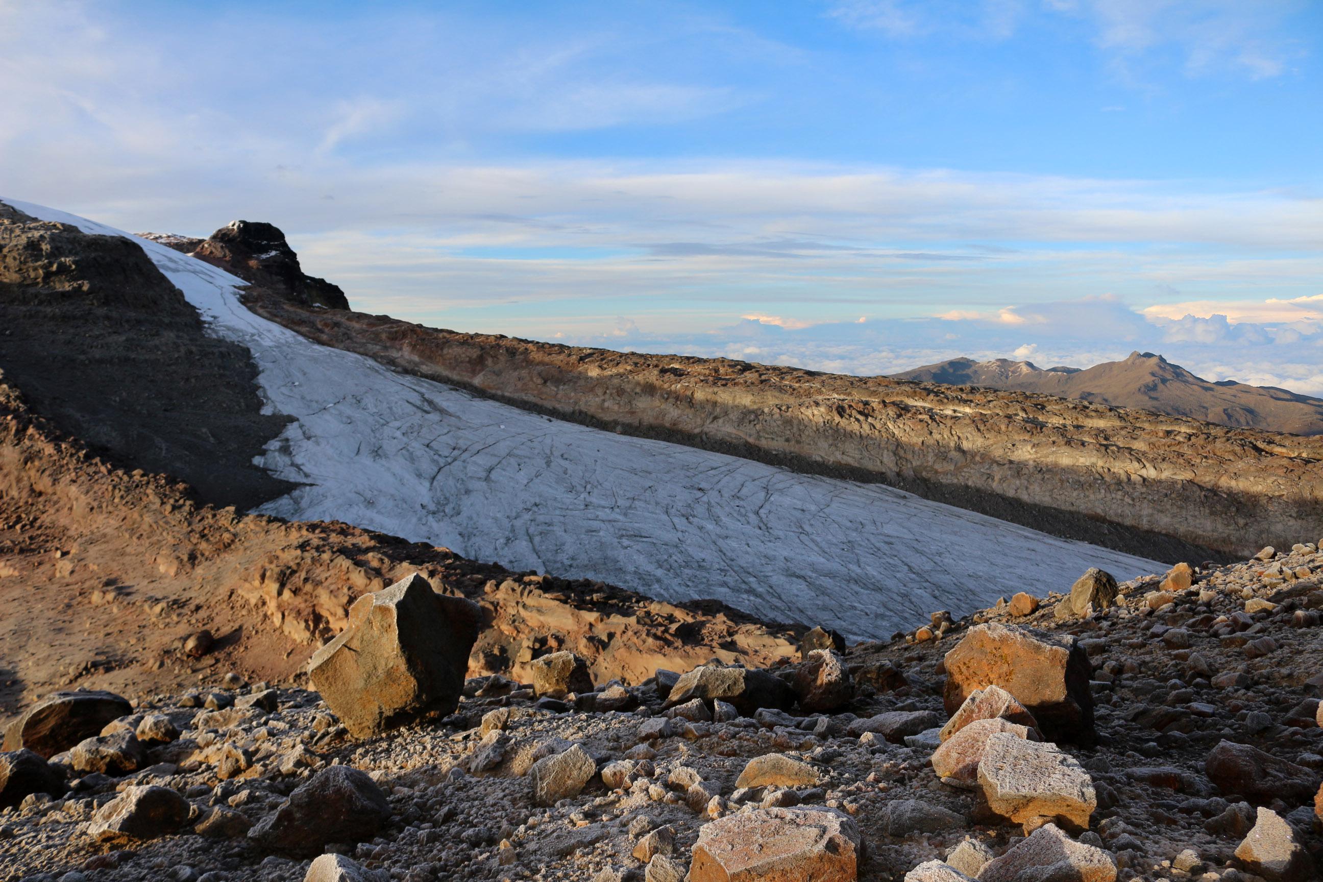 Santa Isabel au parc Nevados