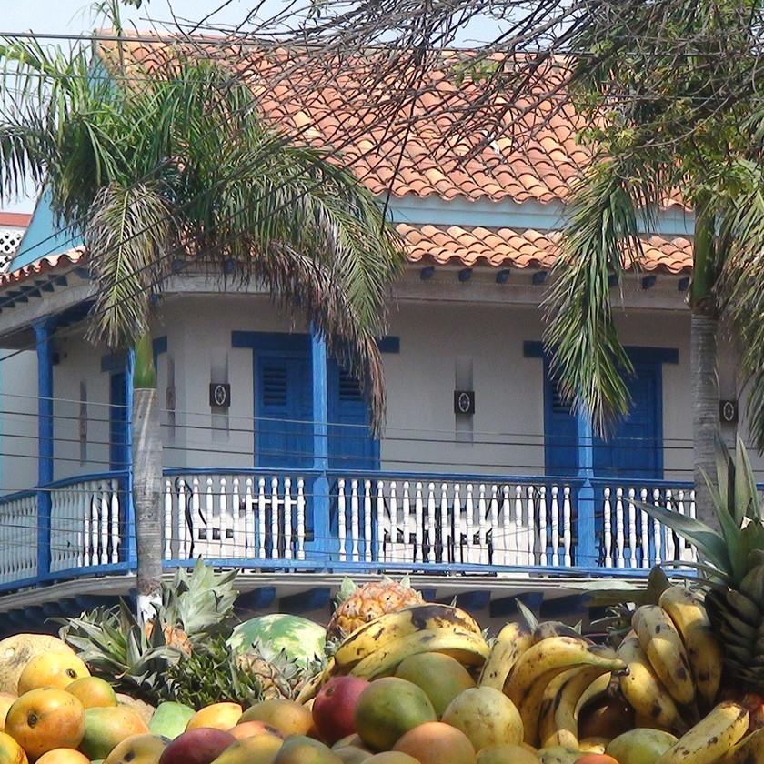 Balcon coloniale Carthagène