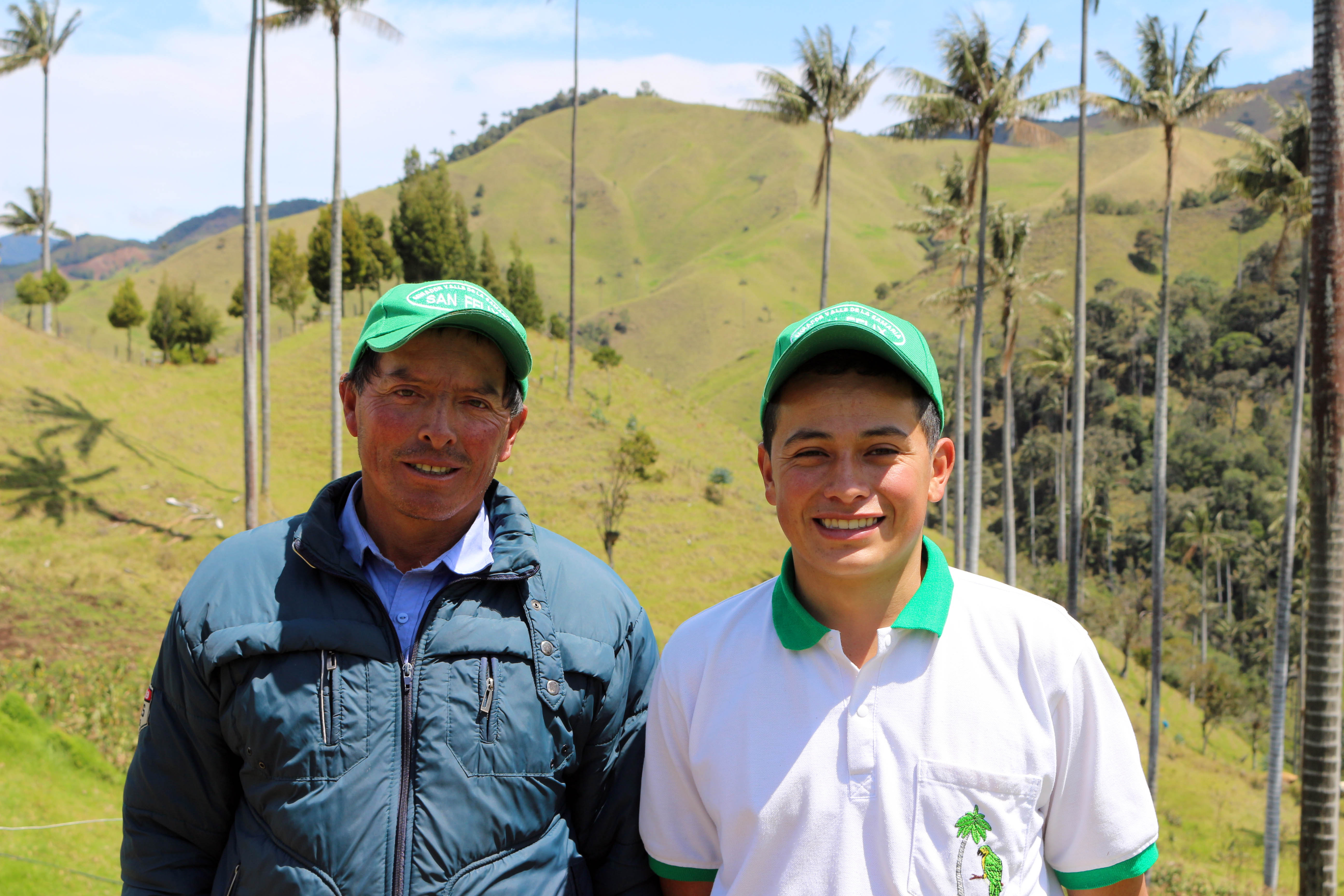 Luis et Alexander, agriculteurs