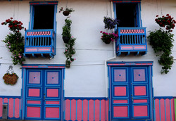 Portes et fenêtres de Salento