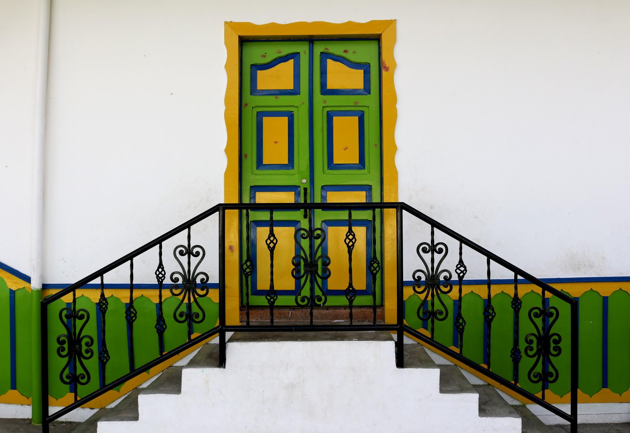 Portes colorées de Salento