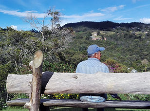 Rencontre avec un horticulteur proche de Medellin