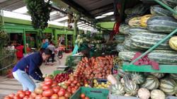 Marché de fruits et légumes à Bogota