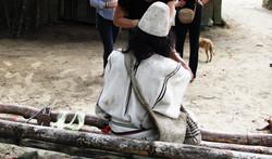 El mamo du village indigène