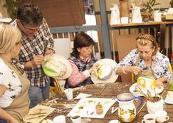 Atelier peinture à Filandia
