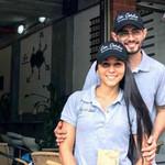 David et Jennifer Don Ovidio , torréfacteur en Colombie