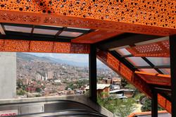 Les escaliers électriques de la Comuna 13