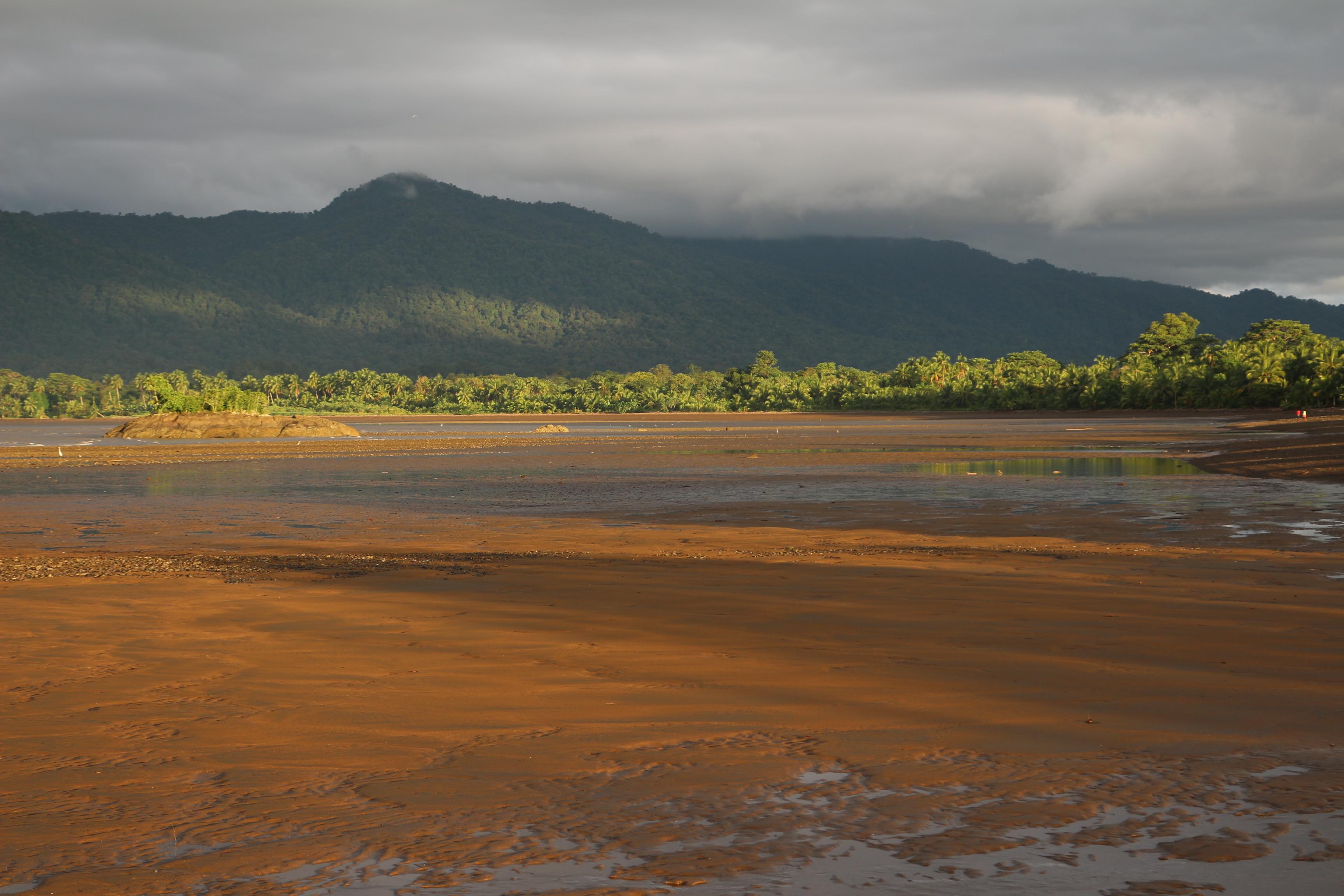 Plage exceptionnelle du Chocó