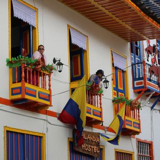 Filandia village de Colombie