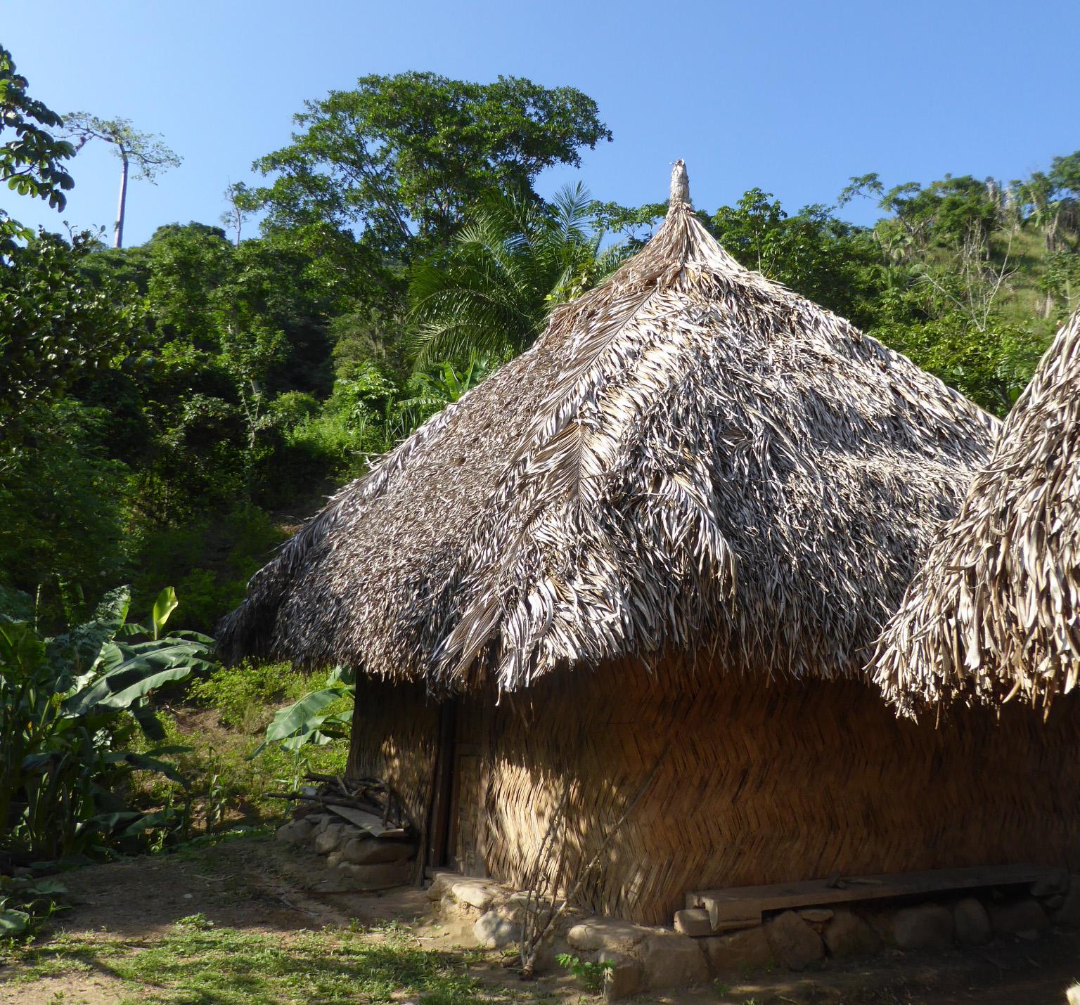 Maison indigène des Arhuacos