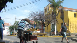 Vendeur de fruit à Carthagènes