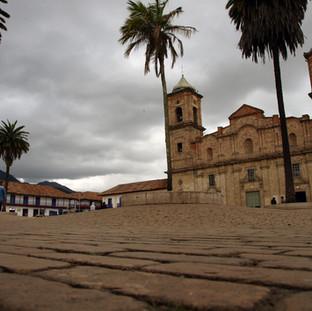 Place du village de Zipaquira