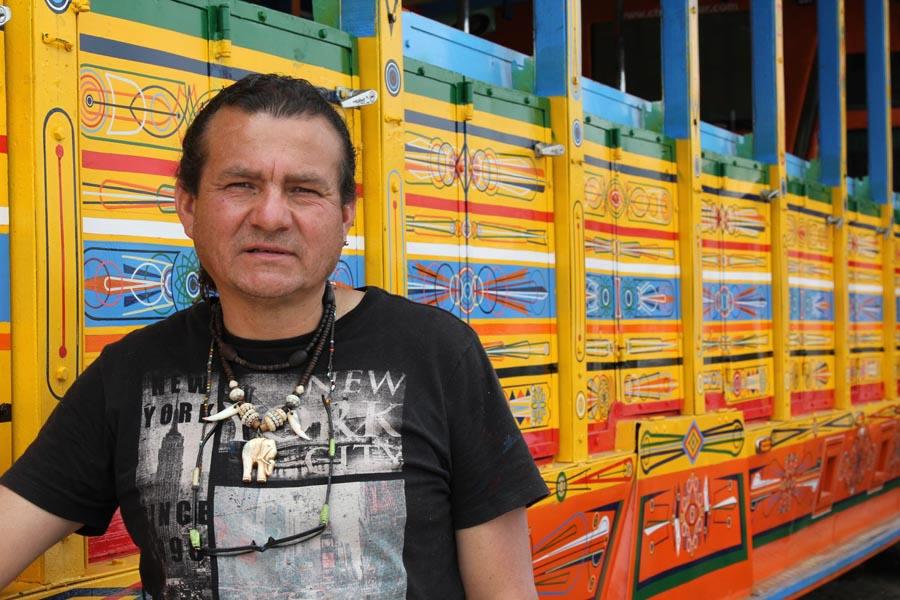 Alejandro. le peintre de chivas