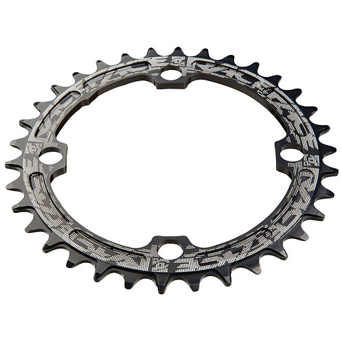 Race Face Narrow/Wide Single Chainring Black 32T, 104BCD
