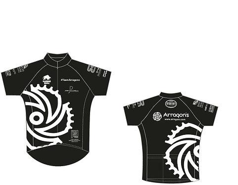 #TeamArragons Road Jersey Black