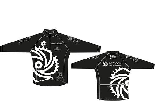 #TeamArragons Thermal Road Jersey Black