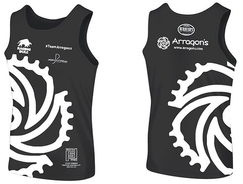 #TeamArragons Running Vest Black
