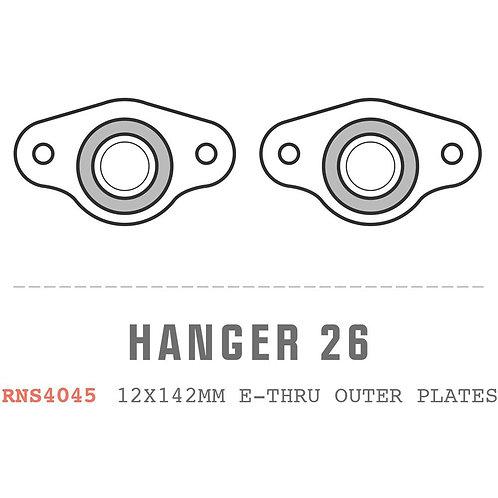 Saracen Hanger 26: 2014 Ariel/Kili Flyer Carbon 12x142mm Direct Mount